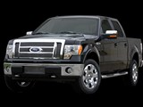 Carriage Works 44362 Polished Stainless Bolt-Over Grille 2009-2010 Ford F-150 Lariat/King Ranch /