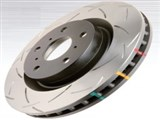 DBA 42021S T3 Clubspec 4000 Series Rotor, Uni-Directional Slotted, Rear 2005-2006 Pontiac GTO /