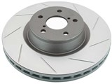 DBA DBA040S T2 Street Series Front Left Uni-Directional Slotted Rotor 2004 Pontiac GTO /