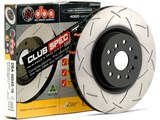 DBA DBA4041S T3 Clubspec 4000 Series Rear Left Uni-Directional Slotted Rotor 2004 Pontiac GTO /