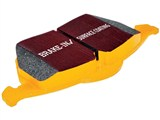 EBC DP41829R Yellowstuff Kevlar Rear Brake Pads, 2010 2011 2012 2013 Camaro, 2008-2011 Cadillac CTS /
