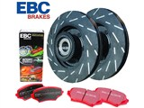 EBC S4KR1191 Stage 4 Signature Brake Kit, Rear Rotors & Pads, 2010 2011 2012 2013 Camaro SS /