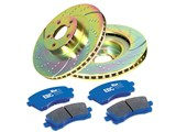 EBC S6KR1040 Stage 6 TrackDay Brake Kit, Rear Rotors & Pads, 2010 2011 2012 2013 Camaro SS /