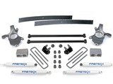 "Fabtech K2164 Torsion Bar 3"" Spindle Suspension System w/Performance Shocks 2001-08 Ford Ranger 2WD /"