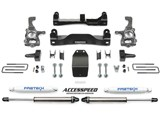 "Fabtech K2183DB 4"" Performance Suspension Lift Kit W/Dirt Logic Black Shocks 2009-13 Ford F-150 4WD /"