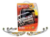 Goodridge 12220 G-Stop Stainless Brake Lines 2010 2011 2012 2013 Camaro V6 /