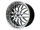 Gravana J2 Monarch 410 Saturn Sky / Pontiac Solstice 19 x 9.5 Rear Wheel - Silver (Only 1 Left!!!) /