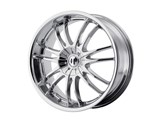 Helo HE84577505242 HE845 17x7.5 5x100/5x110 Chrome (42mm Offset) Wheel /