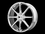 Helo HE87077505242 HE870 17x7.5 5x100/5x110 Chrome (42mm) Wheel /
