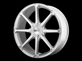 American Racing Helo HE87077505442 HE870 17x7.5 5x100/5x110 +42mm Silver Wheel /