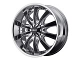 Helo HE87528520238 HE875 20x8.5 5x115/5x120 Chrome (38mm Offset) Wheel by American Racing /