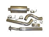 "HeartThrob 4004580 Stainless 4"" Cat-Back Single Exhaust 2011-2014 Ford F-150 3.5 EcoBoost and 5.0 V8 /"