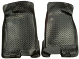 Husky Liner 32511 Front Floor Liners, Black, 2004-2012 Chevrolet Colorado, 2004-2012 GMC Canyon /
