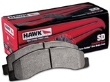 Hawk HB323P.724 Super Duty Towing Extreme Brake Pads - Rear Pair /