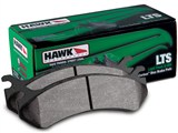 Hawk HB323Y.724 LTS Rear Brake Pads  /