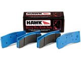 Hawk HB453E.585 BLUE 9012 Race w/0.585 Thickness Front Brake Pads Camaro, Cadillac CTS-V, G8 /