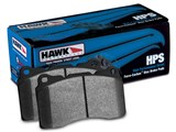 Hawk HB607F.616 HPS Rear w/0.616 Thickness Brake Pads 2008-2009 Pontiac G8 GT & GXP /