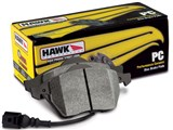 Hawk HB607Z.616 Performance Ceramic w/0.616 Thickness Rear Brake Pads 2008-2009 Pontiac G8 GT & GXP /