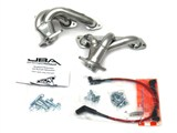 JBA 1528SJS 1528S SILVER CERAMIC JBA Cat4Ward Headers; Shorty; 1-1/2in S/S /