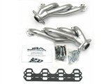 JBA 1624S-2JS SILVER CERAMIC JBA Cat4Ward Headers; Shorty; 1-5/8in S/S /
