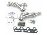 JBA 1627S-1JS SILVER CERAMIC JBA Cat4Ward Headers; Shorty; 1-1/2in S/S /