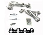 JBA 1628S-2JS SILVER CERAMIC JBA Cat4Ward Headers; Shorty; 1-1/2in S/S /