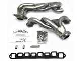 JBA 1628S 86-96 FORD TRUCK 5.8L JBA Cat4Ward Headers; Shorty; 1-1/2in S/S /