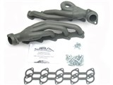 JBA 1669S-1JT TITANIUM CERAMIC JBA Cat4Ward Headers; Shorty; 1-1/2in S/S /