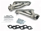 JBA 1672S 97-03 FORD TRUCK 4.2L V-6 JBA Cat4Ward Headers; Shorty; 1-1/2in S/S /