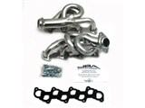 JBA 1677SJS 1997-03 Ford Truck 4.6 Silver Ceramic Coated Shorty Headers - 50-State-Legal! /
