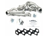 JBA 1679S-1JS SILVER CERAMIC JBA Cat4Ward Headers; Shorty; 1-1/2in S/S /