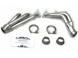 JBA 1816SJS 2010 2011 2012 2013 Camaro V6 Shorty Headers - Silver Ceramic Coated /