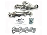 JBA 1949S-1JS SILVER CERAMIC JBA Cat4Ward Headers; Shorty; 1-1/2in S/S /