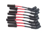JBA W0812 8mm Power Cable 2010 2011 2012 2013 Chevrolet Camaro Ignition Wires - Red /