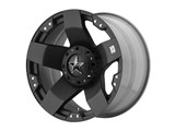 KMC XD77578000335 XD Rockstar 17x8 6x127 Black (35mm Offset) Wheel /