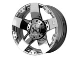 KMC XD XD77578067235 Rockstar 17x8 6x135.00/6x139.70 Chrome (35mm Offset) Wheel /