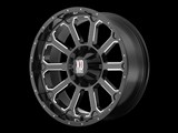 KMC XD80689000330 XD Bomb 18x9 6x127 Black (30mm Offset) Wheel /