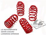 "LG Motorsports 2269 Super Springs 1.5"" Lowering Springs 2010 2011 2012 2013 Camaro /"