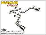 Magnaflow 15093 Competition Axle-Back Exhaust W/5-in Dual Split Tips 2010-2014 Camaro SS /