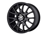Motegi Racing MR11878051745 MR118 17x8 5x100 Matte Black (45mm Offset) Wheel /