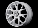 Motegi Racing MR12678000438 MR126 17x8 5x110 Matte White W/Milled Accents (38mm Offset) Wheel /