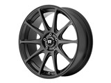 Motegi Racing MR12728549725 MR127 20x8.5 5x120 Satin Black (25mm Offset) Wheel /