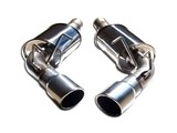 MRT 91A177 Axle-Back Exhaust Version 2.0 2010 2011 2012 2013 Camaro V6 W/O Factory Ground Effects /