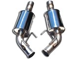 MRT 91A180 Axle-Back Exhaust Version 1.0 GFX 2010 2011 2012 2013 Camaro V6 W/ Factory Ground Effects /
