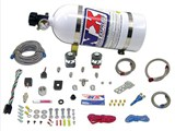 Nitrous Express 20923-10 Complete Stage-1 Nitrous Oxide System 30-50-75HP /