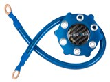 NRG Innovations GK-100BL Ground Wire System - Blue /