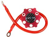 NRG Innovations GK-100RD Ground Wire System - Red /