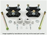 Pro Comp Suspension 62200 Front 3-Inch Leveling Kit 1994-2001 Dodge 1500 1994-2007 Ram 2500/3500 4WD /