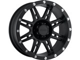 Pro Comp 7031-5865 Flat Black Wheel - 15x8 5x4.5 3.75 B/S 19mm Offset /