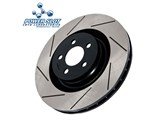 PowerSlot 8235CSL CHEVROLET FRONT Slotted Cryo Rotor /